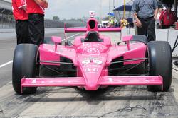 Alex Lloyd, Sam Schmidt Motorsports car on pitlane