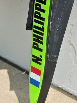Nelson Phillipe's, HVM Racing head rest