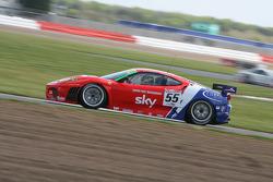 #55 CRS Racing Ferrari 430 GT2: Chris Niarchos, Tim Mullen