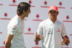 Pedro de la Rosa, Test Driver, McLaren Mercedes, Lewis Hamilton, McLaren Mercedes