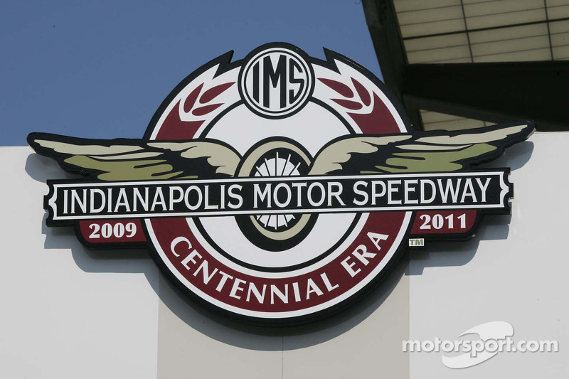 Centennial Era Logo At Indy 500