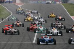 Start of the race, Luiz Felipe Nasr, Eurointernational
