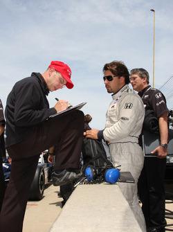 Oriol Servia, Rahal Letterman Racing
