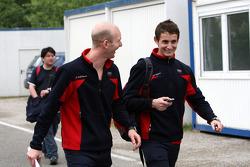 Александр Према, Audi Sport Team Phoenix Audi A4 DTM и Оливер Джарвис, Audi Sport Team Phoenix Audi A4 DTM