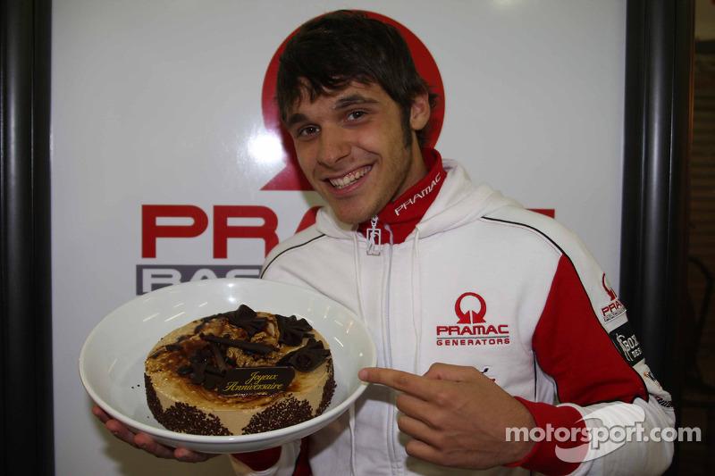Niccolo Canepa, Pramac Racing, celebra su cumpleaños