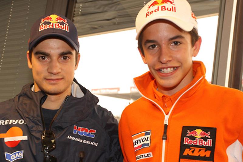 Дані Педроса та Марк Маркес (2009)