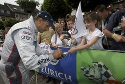 Hans Stuck signs autographs