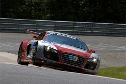 #99 Phoenix Racing Audi R8 LMS: Marc Basseng, Marcel Fässler, Mike Rockenfeller, Frank Stippler