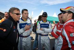 #40 Raeder Automotive GmbH Ford GT: Herman Tilke, Marc Henerici, Thomas Mutsch, Edgar Althoff, and Kenneth Heyer