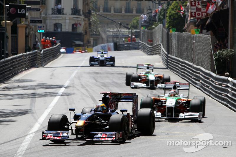 Sébastien Bourdais, Scuderia Toro Rosso, Adrian Sutil, Force India F1 Team