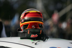Helmet of Fabian Coulthard, Wilson Security Racing