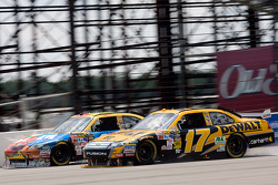 Matt Kenseth, Roush Fenway Racing Ford, Kyle Busch, Joe Gibbs Racing Toyota