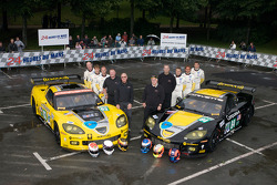 #63 Corvette Racing Corvette C6.R: Johnny O'Connell, Jan Magnussen, Antonio Garcia, #64 Corvette Racing Corvette C6.R: Olivier Beretta, Oliver Gavin, Marcel Fässler