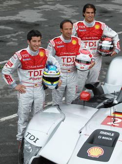 Mike Rockenfeller, Marco Werner, Lucas Luhr