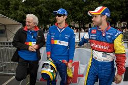 Hugues de Chaunac, Bruno Senna and Tiago Monteiro