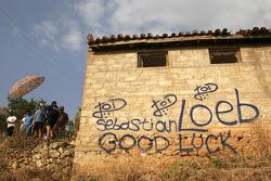 Inscription sur le mur
