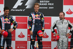 Подиум: победитель - Себастьян Феттель, Red Bull Racing, второе место - Марк Уэббер, Red Bull Racing, третье место - Рубенс Баррикелло, Brawn GP