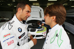 Jorg Muller, BMW Team Germany and Augusto Farfus, BMW Team Germany