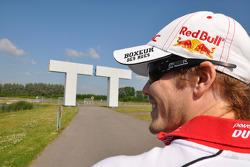 Mika Kallio, Pramac Racing visits TT Assen track and museum