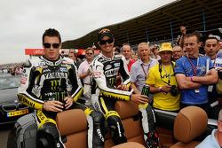 James Toseland, Monster Yamaha Tech 3, Colin Edwards, Monster Yamaha Tech 3