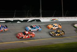 Kasey Kahne, Richard Petty Motorsports Dodge, A.J. Allmendinger, Richard Petty Motorsports Dodge, David Ragan, Roush Fenway Racing Ford, Joey Logano, Joe Gibbs Racing Toyota