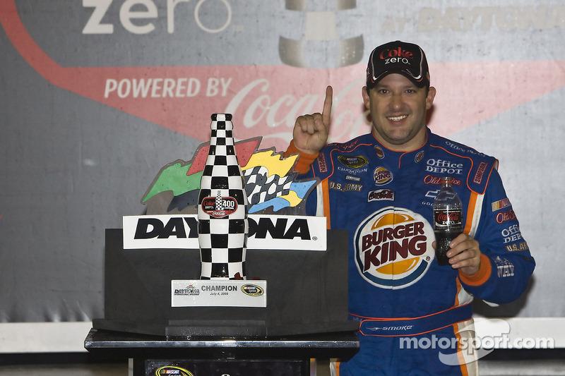 2009, Daytona 2: Tony Stewart (Stewart/Haas-Chevrolet)