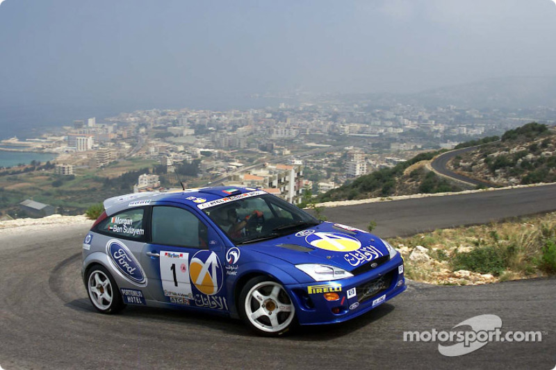 FIA's Vice-President for sport and 14-time Middle East Rally Champion Mohamed Ben Sulayem and co-driver Ronan Morgan