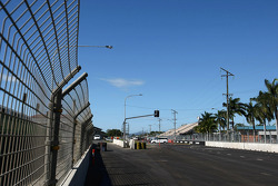 Front strait on the new Townsville street circuit