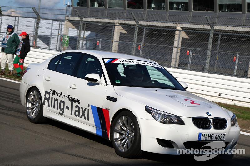 Taxi rides givenby Christian Klien, Test Driver, BMW Sauber F1 Team