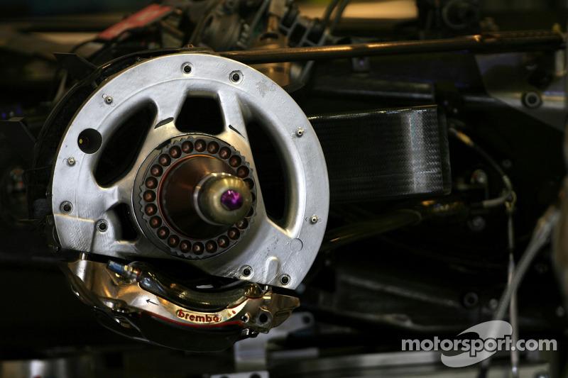 Brawn brake system detail