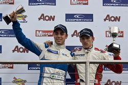 National Class podium: winner Daniel MCkenzie and second Gabriel Dias