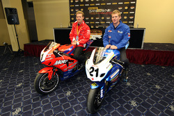 Press conference announcing that the Australian Superbikes joining the V8 Supercars at Phillip Island: Glenn Appleton and Josh Waters