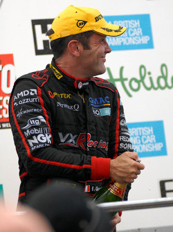 Fabrizio Giovanardi on the podium