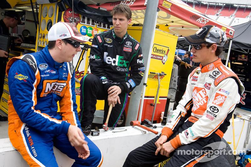 2009: Jugend forscht bei Joe Gibbs Racing