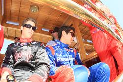 Drivers presentation: Marco Andretti, Andretti Green Racing, Hideki Mutoh, Andretti Green Racing