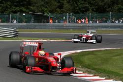 Luca Badoer, Scuderia Ferrari, Jarno Trulli, Toyota F1 Team