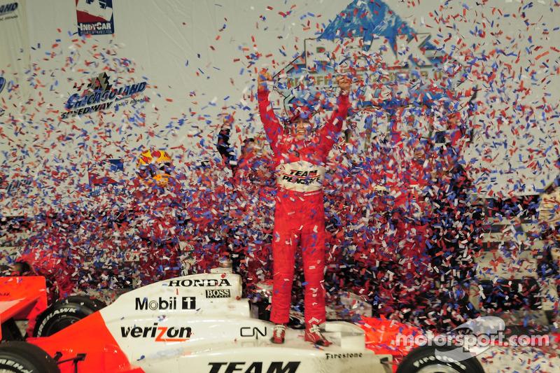 Ryan Briscoe, Team Penske in victory lane
