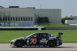 #70 SpeedSource Mazda RX-8: Sylvian Tremblay, Nick Ham