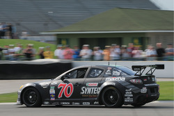 #70 SpeedSource Mazda RX-8: Sylvian Tremblay, Nick Ham