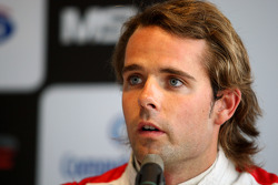 Andy Soucek in the post qualifying press conference