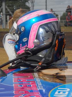 Susie Stoddart, Persson Motorsport AMG Mercedes C-Klasse, Helmet
