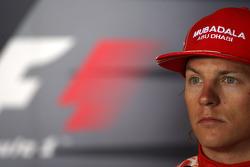 FIA press conference: third place Kimi Raikkonen, Scuderia Ferrari