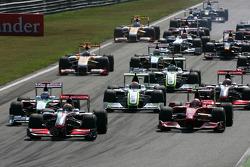 Старт гонки, Льюис Хэмилтон, McLaren Mercedes