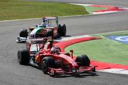 Kimi Raikkonen, Scuderia Ferrari, Adrian Sutil, Force India F1 Team