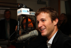 Kasey Kahne is interviewed on 'The B Team' with Bruce Murray & Bill Pidto on Mad Dog Radio at SIRIUS/XM Studios