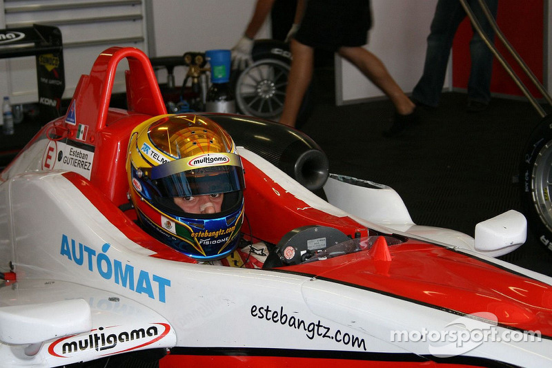 2009 Esteban Gutiérrez Fórmula 3 Británica