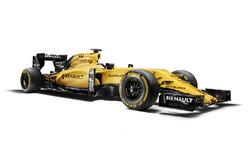 Renault F1 Team 2016 renk düzeni