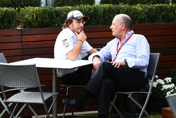 Fernando Alonso, McLaren and Ron Dennis, McLaren Executive Chairman