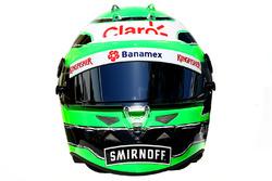 The helmet of Nico Hulkenberg, Sahara Force India F1