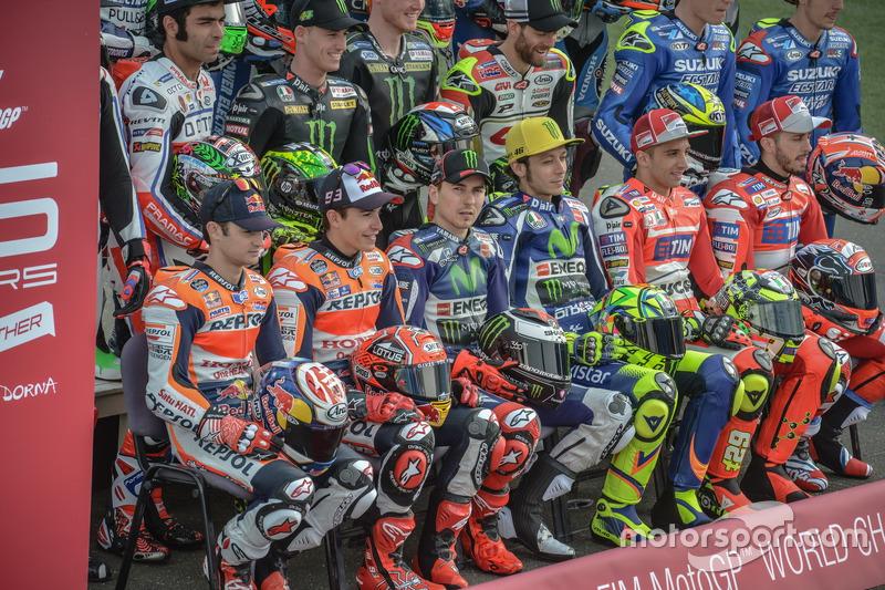 Todos los pilotos de MotoGP 2016